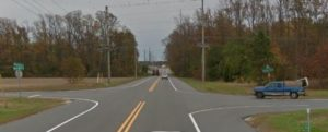 Indian Point Road (Route 5) at Harmons Hill Road (Photo: Google maps)