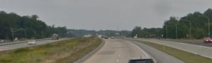 Northbound Route 1 north of Fieldsboro Road (Photo: Google maps)