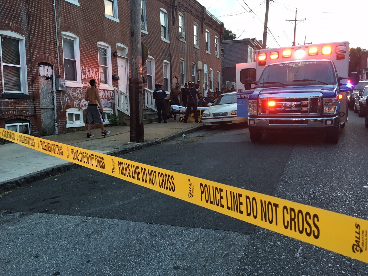 Wilmington police said resident was shot at 1210 W. Third St. (Photo: Delaware Free News)