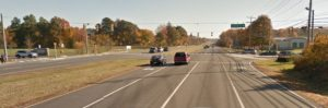 U.S. 40 (Pulaski Highway) at Lagrange Avenue (Photo: Google maps)