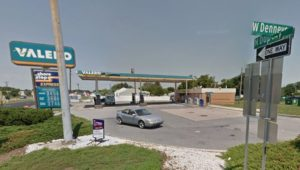 Valero gas station and Shore Stop convenience store at 3668 North DuPont Highway (U.S. 13) at Denneys Road north of Dover (Photo: Google maps)