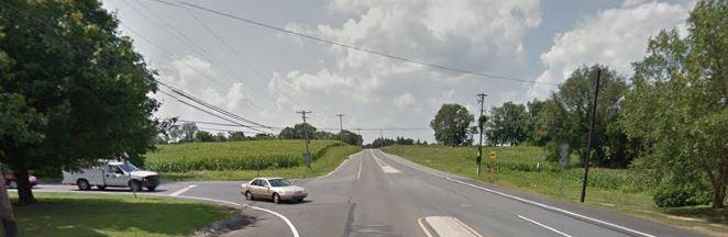 Beaver Valley Road at Ramsey Road (Photo: Google maps)
