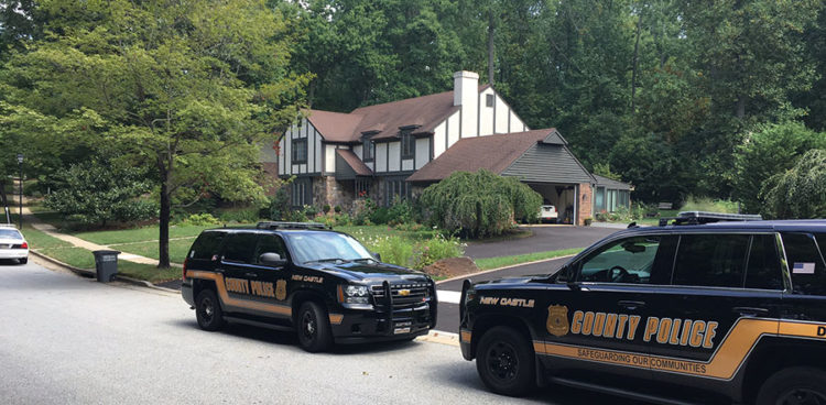 New Castle County police are investigating a home invasion in the 700 block of Hertford Road in Edenridge. (Photo: Delaware Free News)
