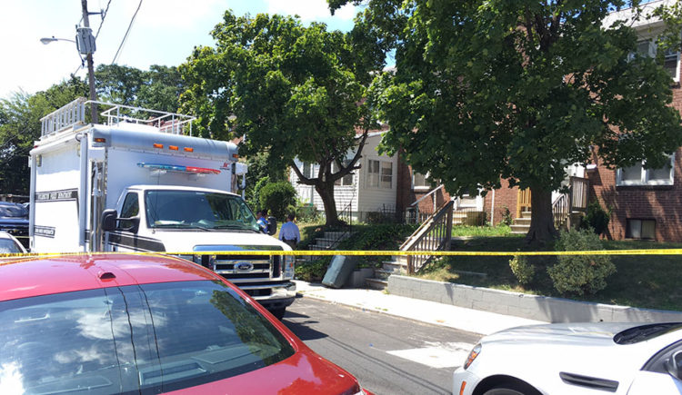 Wilmington police investigating a homicide searched a home in the 2100 block of N. Locust St. (Photo: Delaware Free News)