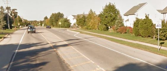 Red Lion Road (Route 71) at Delilah Drive (Photo: Google maps)