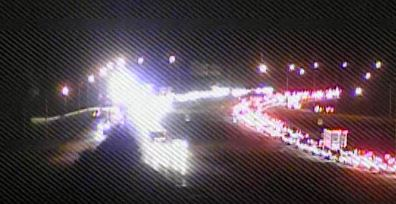 Route 1 at the north Smyrna exit at 9 p.m. (Photo: DelDOT traffic cam)