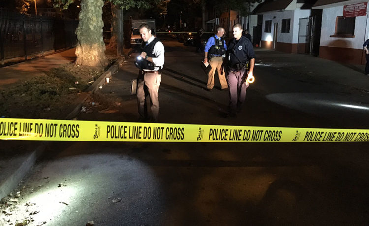 Police investigate shooting on West Third Street in Wilmington. (Photo: Delaware Free News)