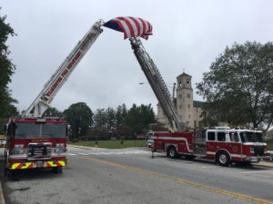 A funeral service for  Lt. Christopher Leach was held today at St. Elizabeth's Catholic Church in Wilmington. (Photo: Delaware Free News)