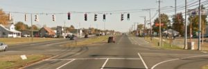 U.S. 13 (North DuPont Highway) at Fork Branch Road north of Dover (Photo: Google maps)