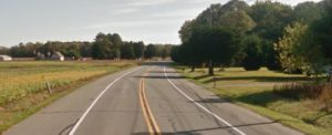Willow Grove Road (Route 10) west of Felton (Photo: Google maps)