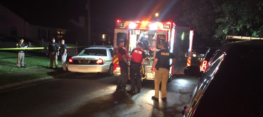 Shooting victim was taken to hospital. (Photo: Delaware Free News)