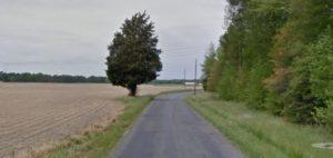 Burrsville Road west of Harrington (Photo: Google maps)