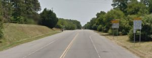 Lancaster Pike (Route 41) in Hockessin near the Pennsylvania state line (Photo: Google maps)