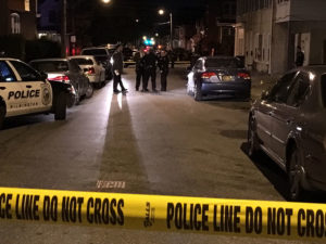 Shooting scene at 25th and N. Madison streets in Wilmington. (Photo: Delaware Free News)