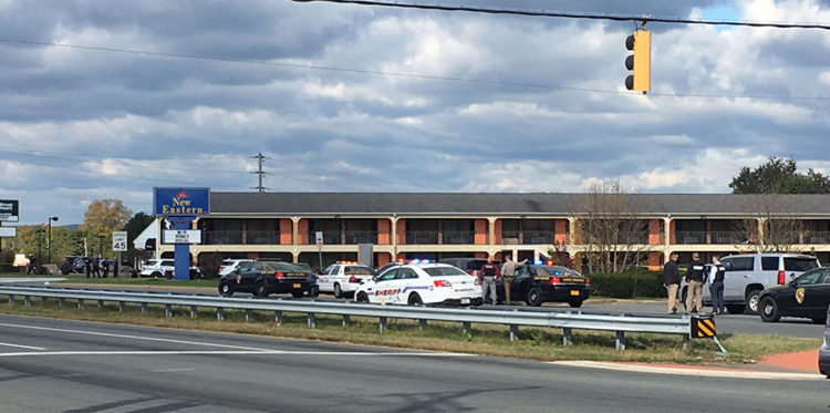 Two suspects from Delaware died in a shootout wit police at the New Eastern Inn on U.S. 40 in Elkton, Maryland. (Photo: Delaware Free News)