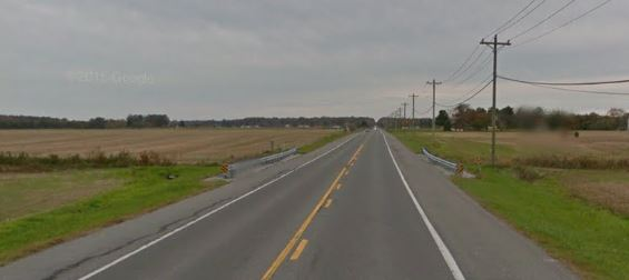 Route 14 (Vernon Road) at Prospect Branch (Photo: Google maps)