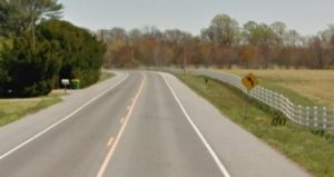 Smyrna-Leipsic Road west of Big Oak Road (Photo: Google maps)