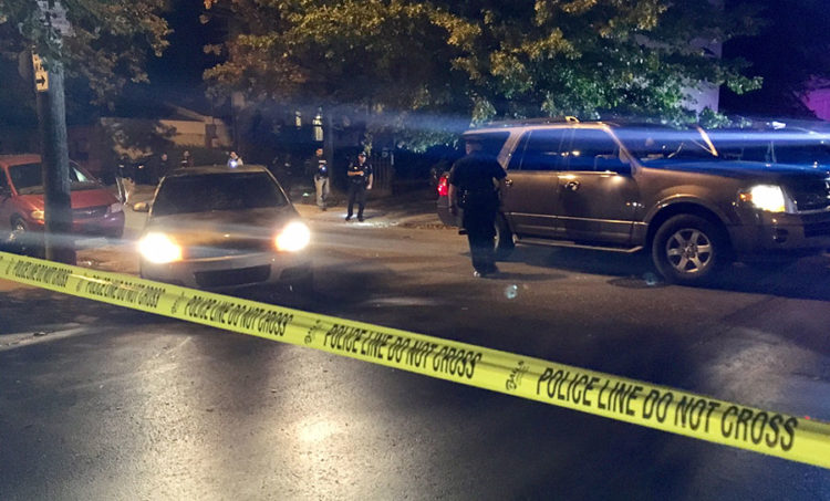 Shooting scene at Third and Clayton streets in Wilmington (Photo: Delaware Free News)