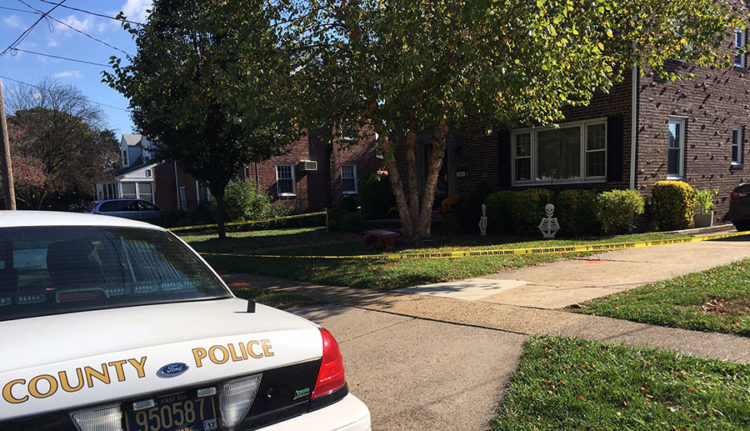 New Castle County police are investigating shooting in the 500 block of Jackson Ave. in Woodcrest neighborhood. (Photo: Delaware Free News)