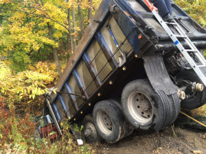 Dump truck involved in fatal crash on Lancaster Pike in Hockessin (Photo: