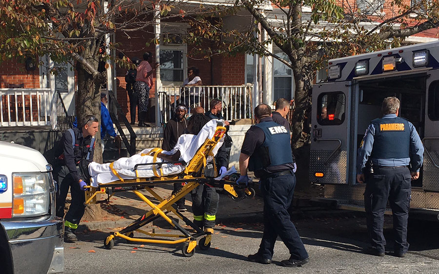 Shooting victim was found at home in 1300 block of Chestnut St. in Wilmington. (Photo: Delaware Free News)