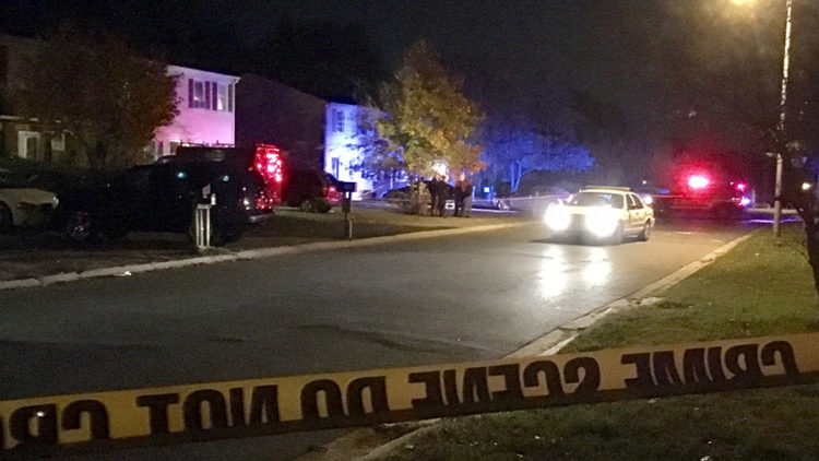 New Castle County police investigate shooting on Flamingo Drive in Sparrow Run community in Bear. (Photo: Delaware Free News)