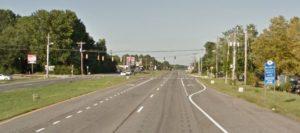 U.S. 40 (Pulaski Highway) at Buckley Boulevard (Photo: Google maps)