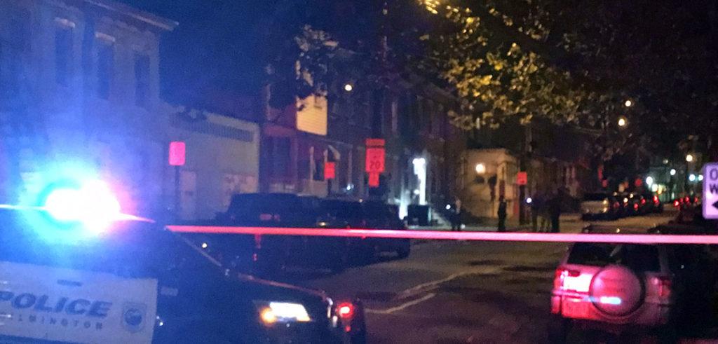 Wilmington police investigate shooting in the 200 block of N. Van Buren St. (Photo: Delaware Free News)