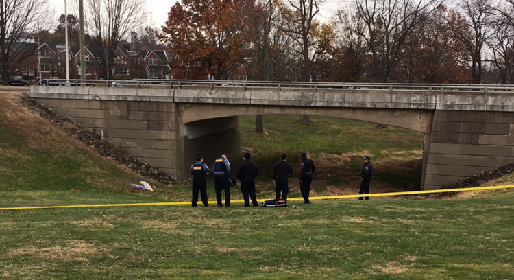 Body was found alongside bridge in 500 block of S. Lincoln St. in Wilmington. (Photo: Delaware Free News)