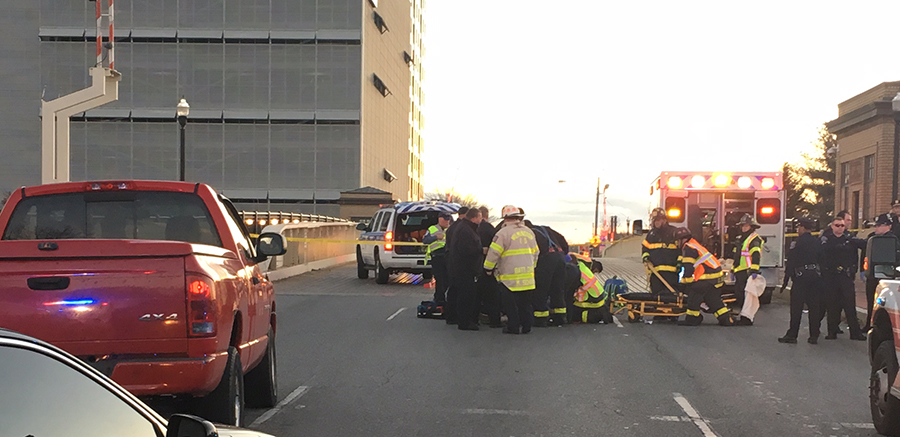 Man was fatally struck by pickup truck on the South Market Street Bridge in Wilmington. (Photo: Delaware Free News)