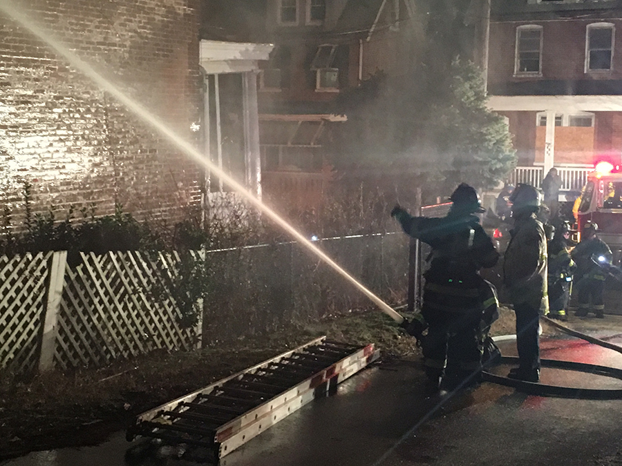 Fire swept through home at 2203 N. Church in Wilmington. (Photo: Delaware Free News)