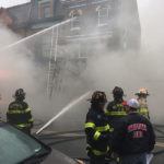 Fire rages in 400 block of N. Market St. in Wilmington (Photo: Delaware Free News)_