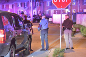 Police investigate shooting of teenager on South Pennewell Drive in Edgemoor. (Photo: Delaware Free News)