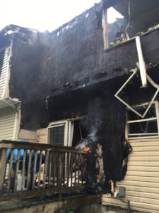 Fire caused $500,000 damage in the St. Andrews town house complex in Bear. (Photo: Delaware Free News)