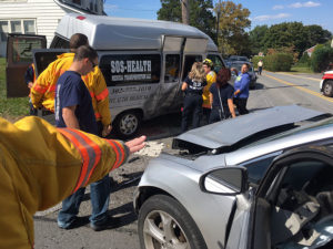 Crash happened at intersection of East Newport Pike and Latimer Street/Larch Avenue east of Newport. (Photo: Delaware Free News)