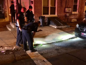 Wilmington police investigate double shooting in the 1100 block of Beech St. (Photo: Delaware Free News)