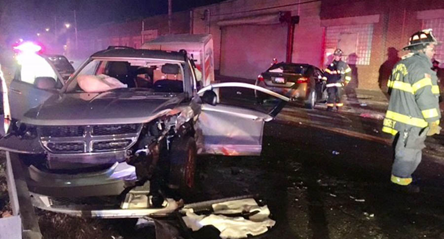 Fatal crash happened in the 1300 block of E. 12th St. in Wilmington. (Photo: Delaware Free News)