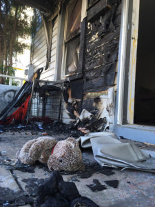 Fire at home on West Lockwood Street in Middletown was determined to be arson. (Photo: Delaware Free News)