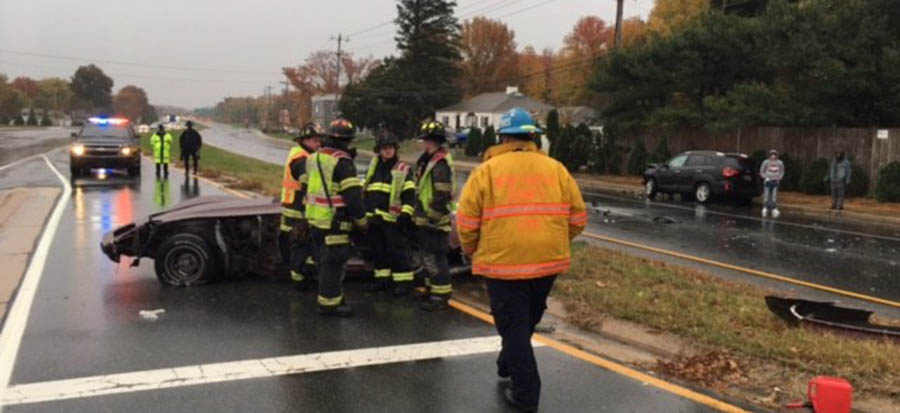 Fatal crash happened on East Chestnut Hill Road (Route 4) at Todd Lane in Brookside. (Photo: Delaware Free News)