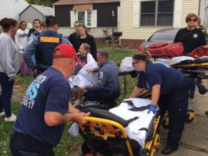 Fire broke out in home on Gene Avenue in Castle Hills. (Photo: Delaware Free News)