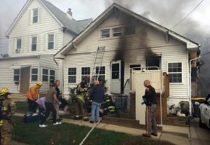 Fire broke out at home on Norway Avenue in Richardson Park neighborhood. (Photo: Delaware Free News)