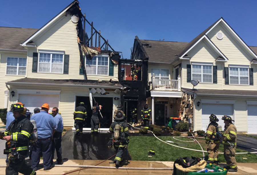 Fire Burns Townhome In Middletown Delaware Free News