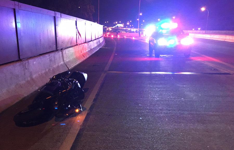 Newark man, 32, dies after I-95 motorcycle crash, plunge in